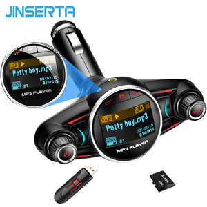 JINSERTA Car MP3 Player Car Bl