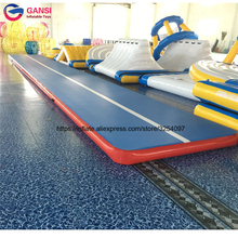 Горячая Распродажа 8x2x0.2 м надувной воздушный трек тренажерный зал коврик высокого качества надувные гимнастика коврик для тхэквондо