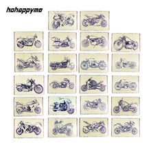Carteles de Metal para motocicleta, carteles de decoración Vintage para Bar, carteles de estaño, decoración de pared, base del bateador, placa Retro de 20x30 cm