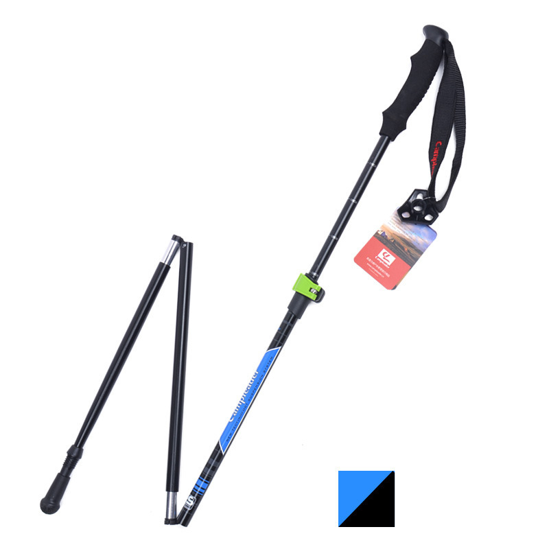 Image 3 - VILEAD Stable 36 125cm Walking Sticks 7075 Aluminum Hiking Trekking Poles Ultralight Camping Folding Nordic Telescopic Crutches-in Walking Sticks from Sports & Entertainment