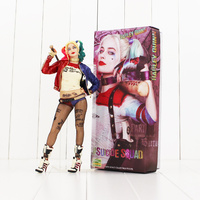 29cm Crazy Toys Suicide Squad Harley Quinn Action Figure Toy Harley Quinn Collectible Model Dolls