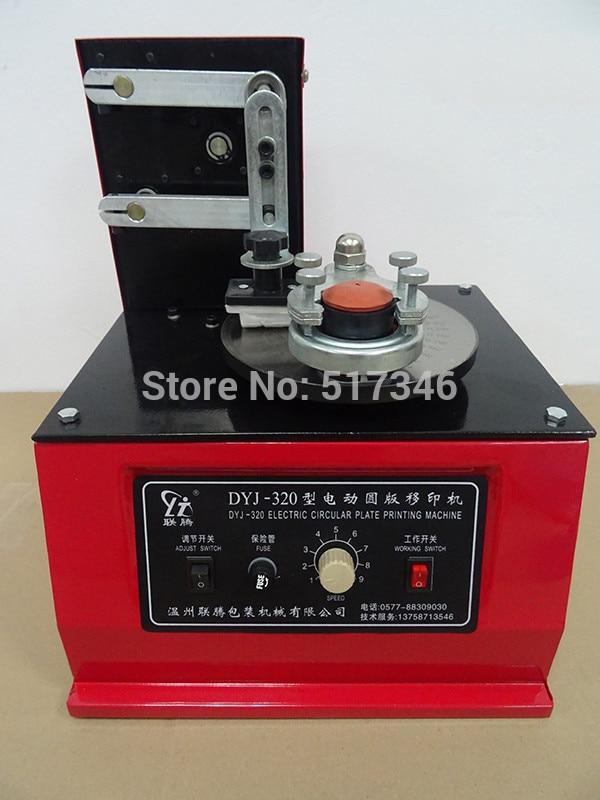 1 PC DYJ-320 modèle Pad imprimante Date Machine d'impression encre codage imprimante disque DYJ320