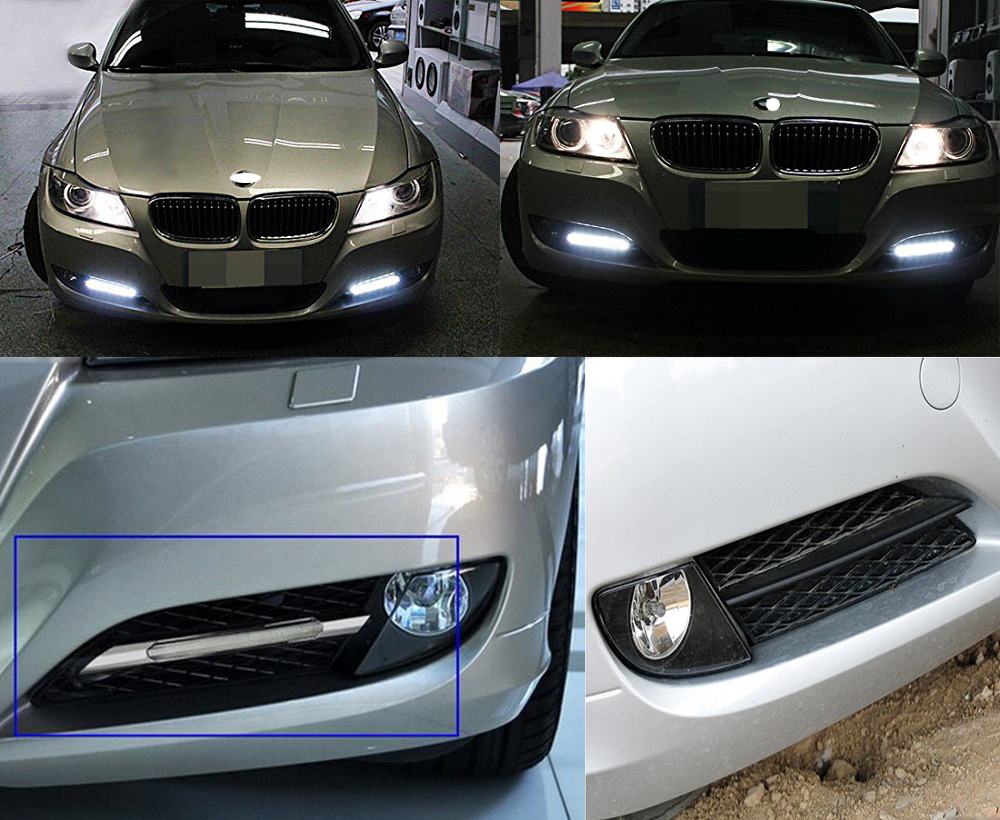 Led daytime running light for BMW E90 328i-14