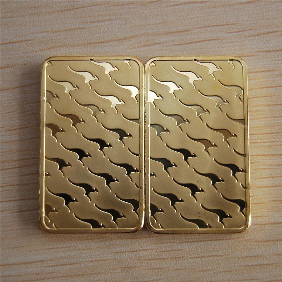 Perth Mint minted gold bar (6)