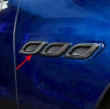 6pcsfor Maserati Levante Quattroporte Ghibli Leaf plate outlet decorate frame True carbon fiber