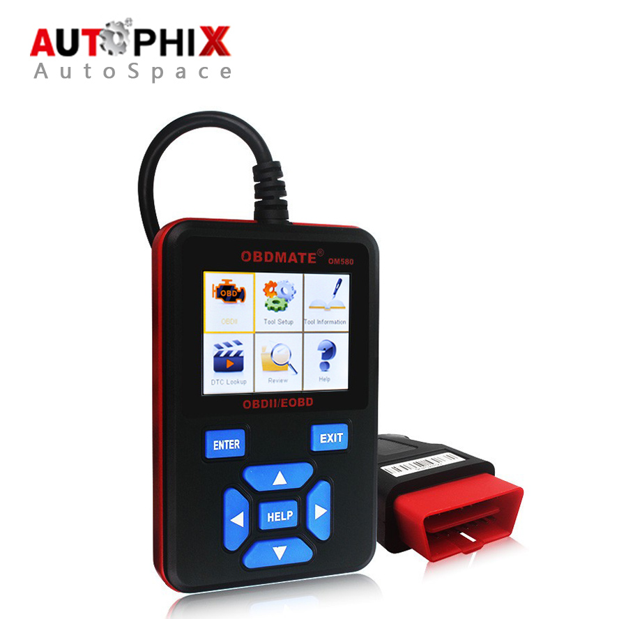 2017 Hot AUTOPHIX OBDMATE OM580 OBD2 EOBD JOBD Automotive Engine Diagnostic Scanner font b Tool b