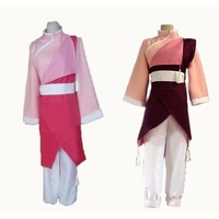 Fullmetal Alchemist Cosplay Mogą Chang Różowy Kung Fu Uniform Costume