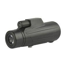 Компактный 10x52 монокуляр портативный черный HD водонепроницаемый оптический Открытый Кемпинг Туризм Наблюдение за птицами монокулярный телескоп