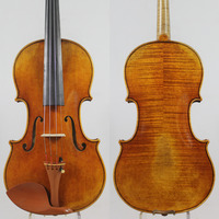 Copy Of Antonio Stradivari Soil 1715 4 4 Violin All European Wood M7086