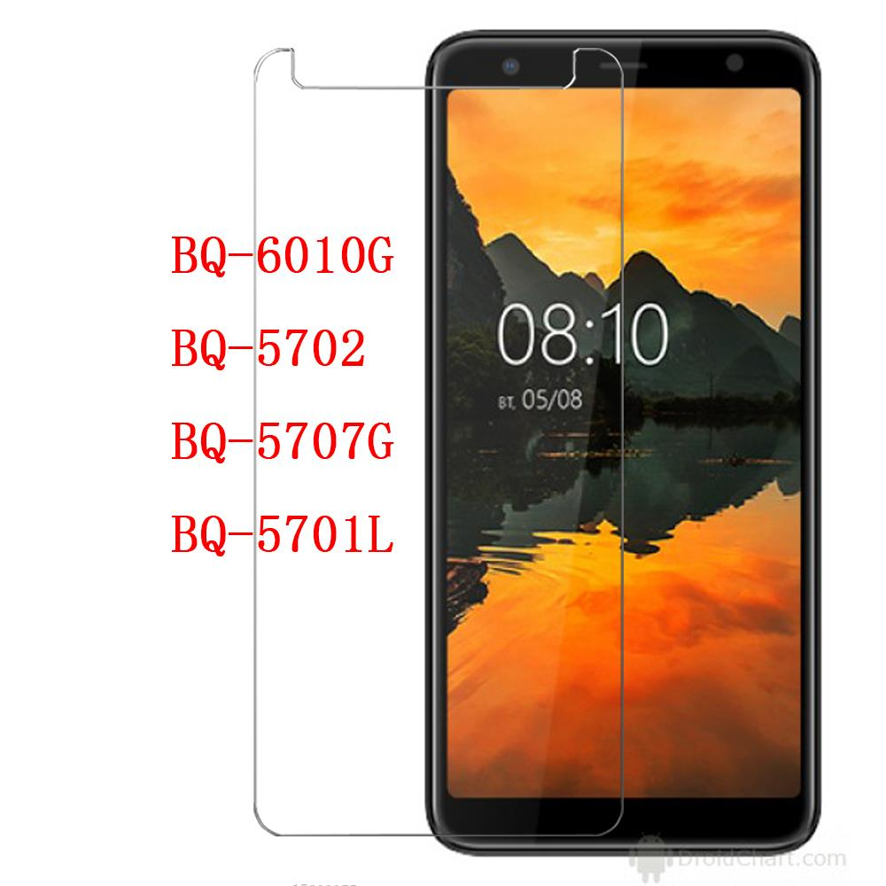 Smartphone 9H Tempered Glass For <font><b>BQ</b></font> Mobiie <font><b>BQ</b></font>-<font><b>6010G</b></font> Practic Protective Film Screen Protector cover FOR <font><b>BQ</b></font>-5702 5707G 5701L image
