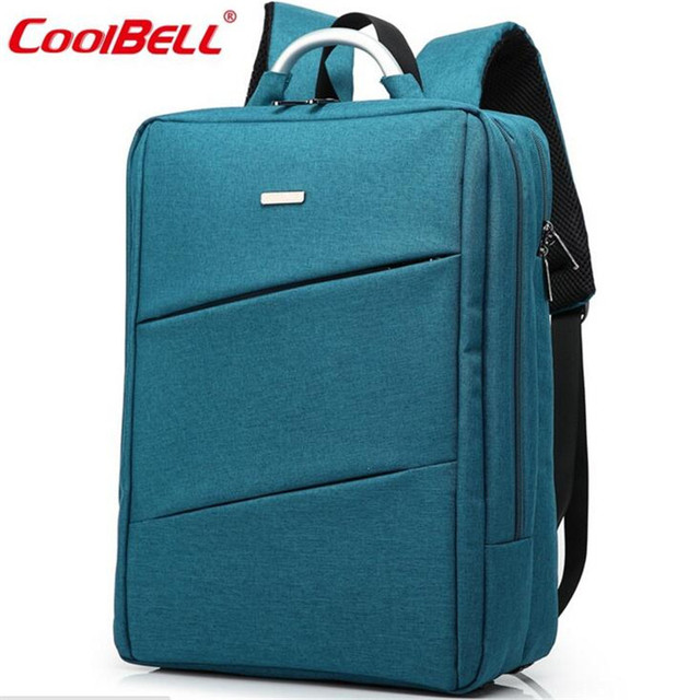 32245d8c7b66 Cool Bell 14.4-15.6 Inch Laptop Backpack Hot Sale Women Fashion Waterproof Travel  Bag Business