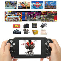 64Bit 4.3inch PAP Gameta II Plus 16G HDMI Built In 3000 Games MP4 MP5 Video Game Consoles Wireless Handheld Player