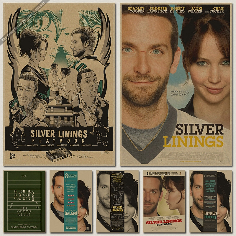 Silver Linings Playbook Oscar poster retro decorative painting wall stickerSilver Linings Playbook Reviews   Online Shopping Silver Linings  . Silver Linings Movie Summary. Home Design Ideas