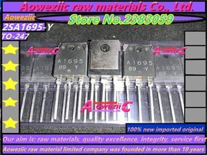 Image 2 - Aoweziic 2018+ 100%new imported original 2SA1695 Y 2SC4468 Y 2SA1695 2SC4468  A1695 C4468 TO 247 Power Amplifier Transistor
