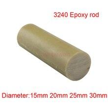 15 мм 20 мм 25 мм 30 мм 3240 эпоксидные стержни epikote bar ethoxyline полимерная палочка из стекловолокна круглая высокотемпературная изолирующая штанга 50 см