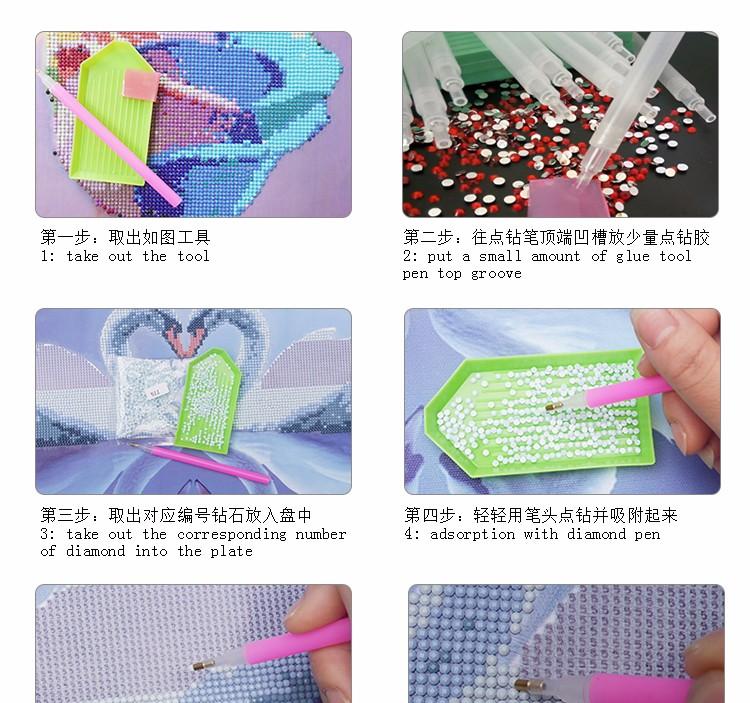 bordir mosaic stitch dekorasi 14