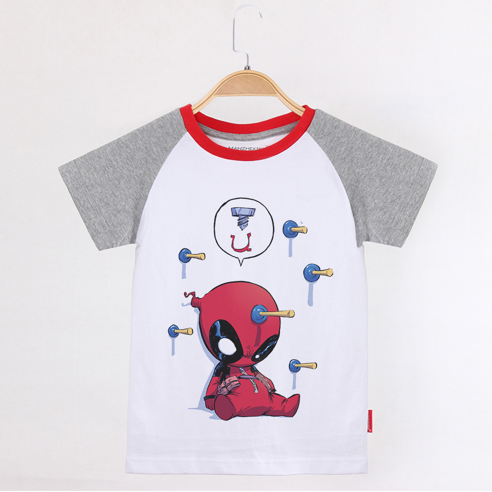 T-shirts, Girls, Boy, Arrival, Children, Cotton