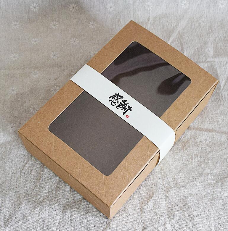 Buy Qi Size18125cm Kraft Window Boxes