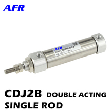 CDJ2B10 CDJ2B16 Magnetic cylinder Mini Pneumatic Air Cylinder Double Acting Single Rod 10mm 16mm Bore 5~150mm Stroke inside micrometers single rod 125 150mm 5 6inch 303 06 050