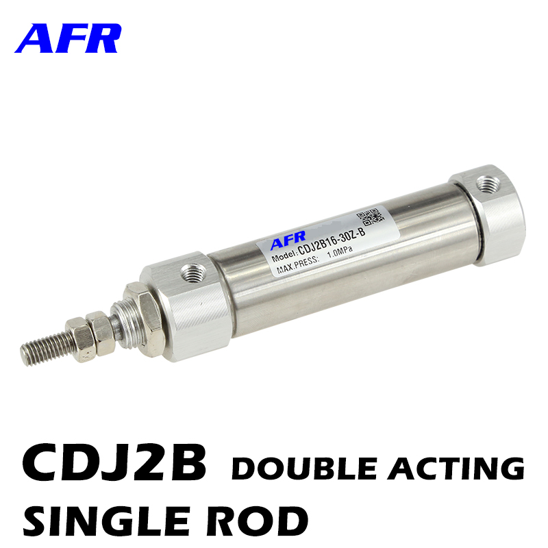 Single Acting Spring Return Round Body 1-1//2 inches Stroke Non-cushioned 3//4 inches Bore Parker .75NSR01.5 Stainless Steel Air Cylinder 1//4 inches Rod OD 1//8 NPT Port 1//8 NPT Port Parker Hannifin Nose Mount