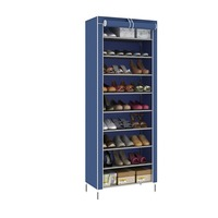 9 Grids Home Saving Space Fabric Home Shoes Organizer Durable Shoe Rack Shoes Cabinet can include 30 Pairs Shoes