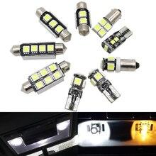 12 шт. Автомобильный светодиодный светильник Canbus s для Volkswagen POLO 6N 6N2 9N 9N3 6R 95+ светодиодный светильник без ошибок