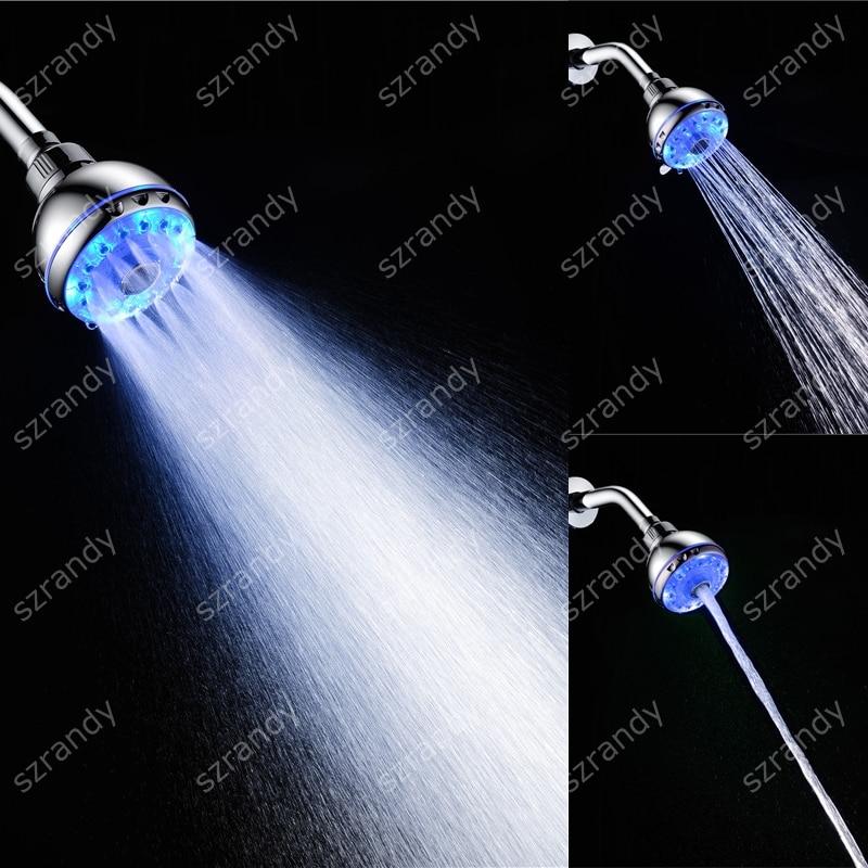 tel/éfono est/ándar de ducha de ba/ño de alta presi/ón con funci/ón de interruptor Rociador de ducha 30/% de ahorro de agua doble cara gel de ducha incorporado Cabezal de ducha de mano