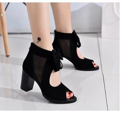 super high women flip flops hollow wedge sandals sexy high