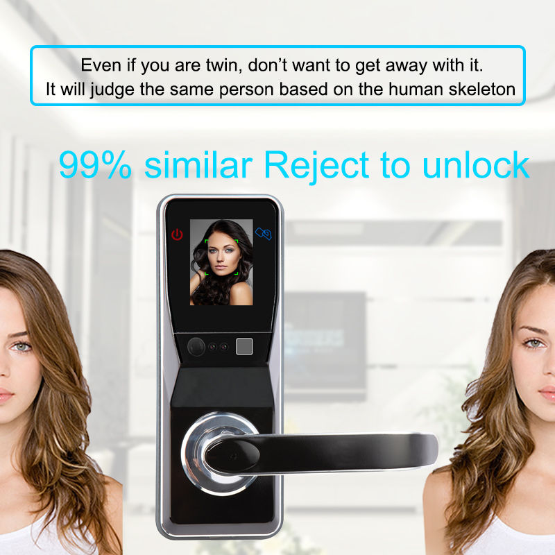 Eseye Smart Lock Face Electronic Door Lock Face Smart Intelligent Digital Facial Fingerprint Door Lock For Smart Home Anti-theft eseye electronic lock door face digital door lock fingerprint intelligent electronic locks smart door lock touch screen keyless