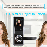 Eseye smart lock face fechadura da porta eletrônica cara inteligente digital facial fechadura da porta de impressão digital para casa inteligente anti-roubo