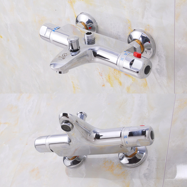 free shipping hot sale bathtub shower thermostatic faucet quality ...