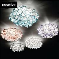 NOUVELLE Creative Mode 5 Couleurs Acrylique Fleurs de Led E27 * 2 Plafonnier pour Chambre Enfants Chambre Salon AC 80-265 V 1435