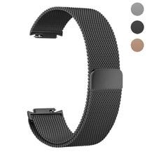 ThorMax Milanese Loop band для Asus Zenwatch 3 магнитная всасывания замена Браслет ремешок аксессуары черный/серебристый/золотой