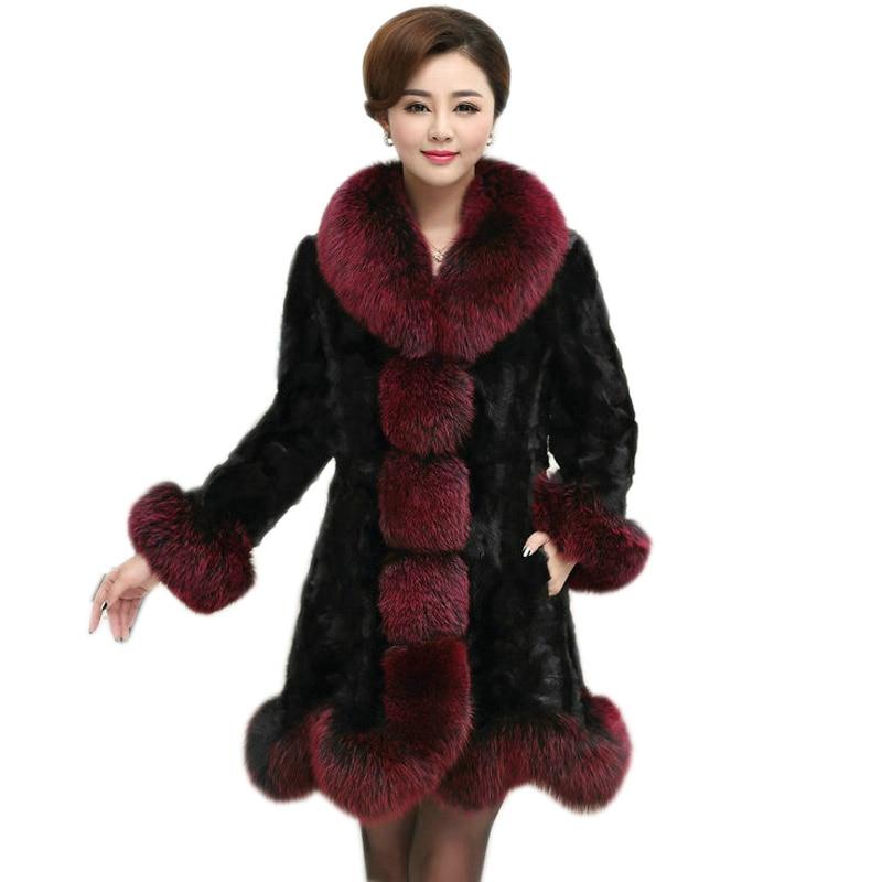 Luxury Woman Real Mink Fur Coat Genuine Poncho Natural Winter Female Jacket Full Pelt Real Fur Cape Shawl Coat Mink Coats