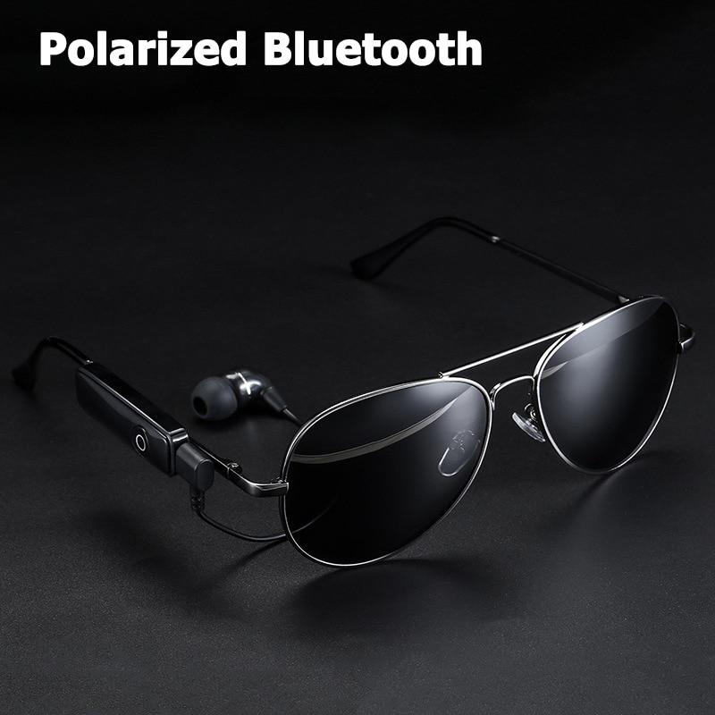 Солнцезащитные очки JackJad, поляризационные, в авиационном стиле, с Bluetooth, гарнитура, для вождения, музыки, звонков и ответа, солнцезащитные очки с наушниками