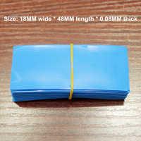 100 pcs/lot No. 5 No. 7 Batterie gehäuse isolierung schrumpfschlauch batterie abdeckung batterie mantel PVC wärme schrumpf film
