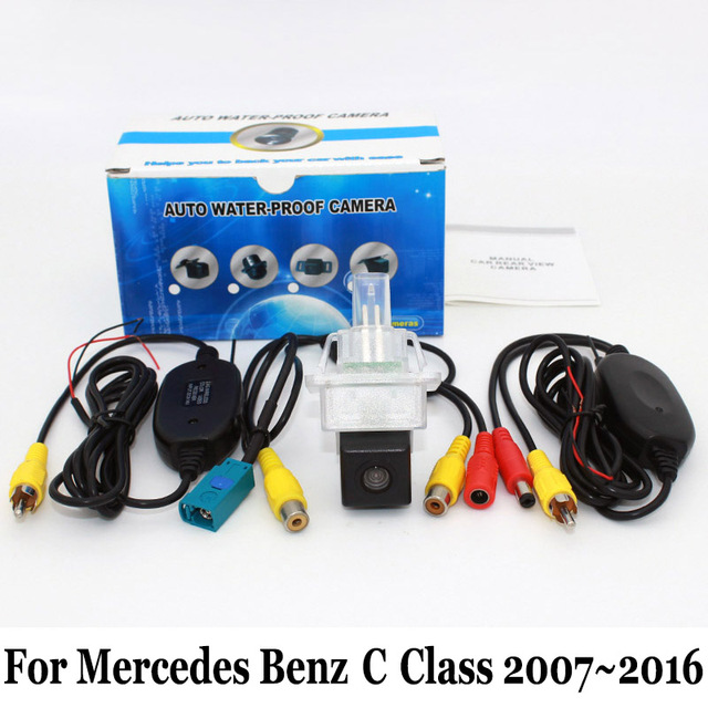 For Mercedes Benz C Class MB W204 W205 2007~2016 / RCA Wired Or Wireless HD Wide Lens Angle CCD Night Vision Rear View Camera