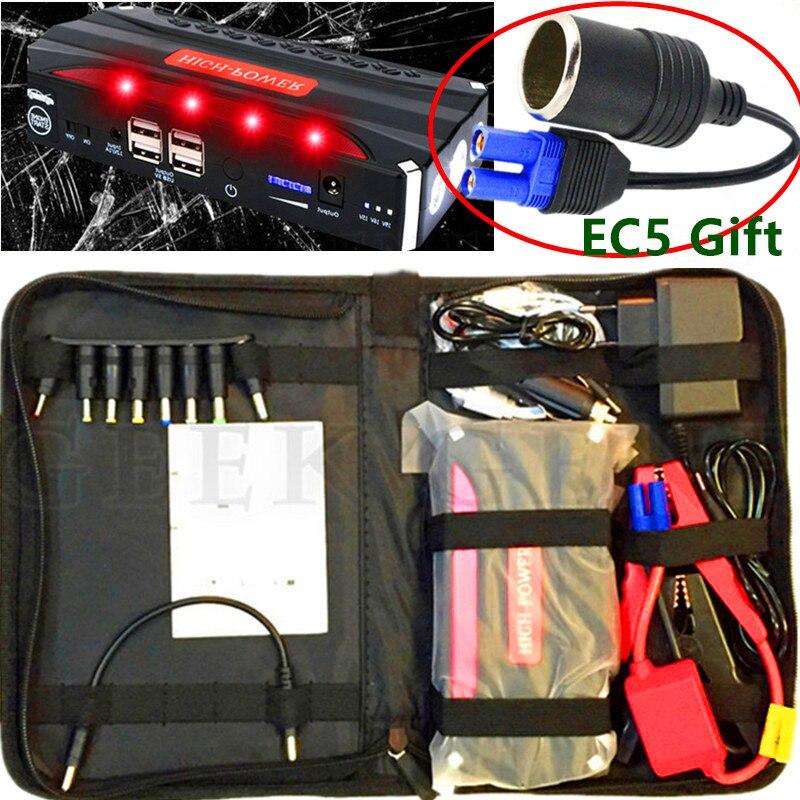 Auto Starthilfe 600A Notfall Startvorrichtung 12 V Energienbank Leichter Starer Auto Ladegerät Für Autobatterie Booster Buster Diesel
