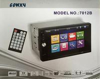 7 Inch 7012B 2 DIN HD Touch Screen 12v Bluetooth Car Vehicle FM MP5 Radio Player