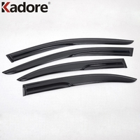 Auto Parts For Volkswagen Jetta Sagitar 2012 2013 Window Awings Shelter Defecter Sun Rain Visor Protection