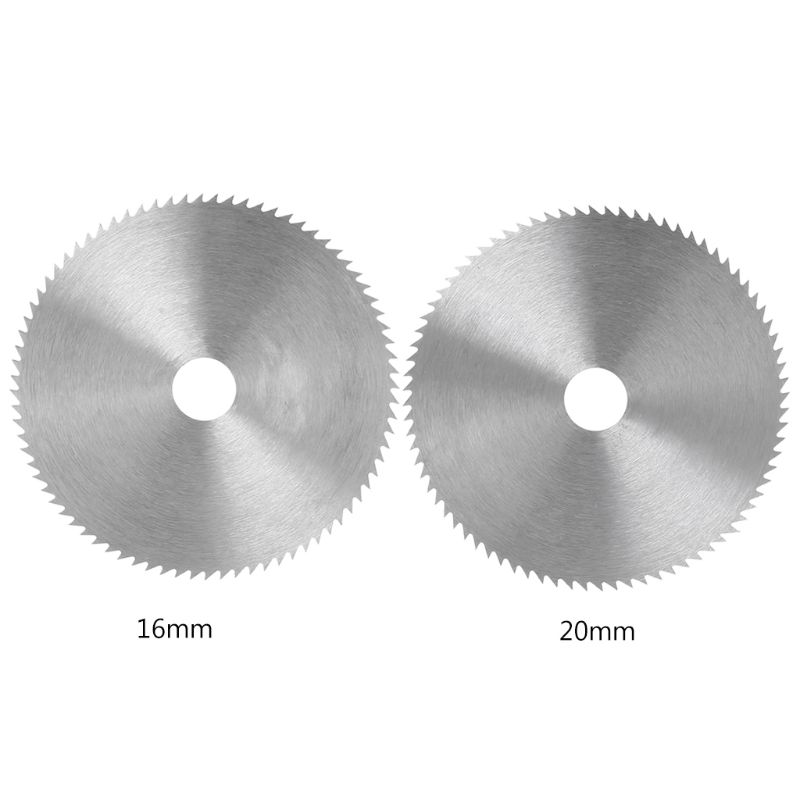 1pcs New 4 Inch Ultra Thin Steel Circular Saw Blade 100mm Bore Diameter 16/20mm Wheel Cutting Disc For Woodworking Rotary Tool