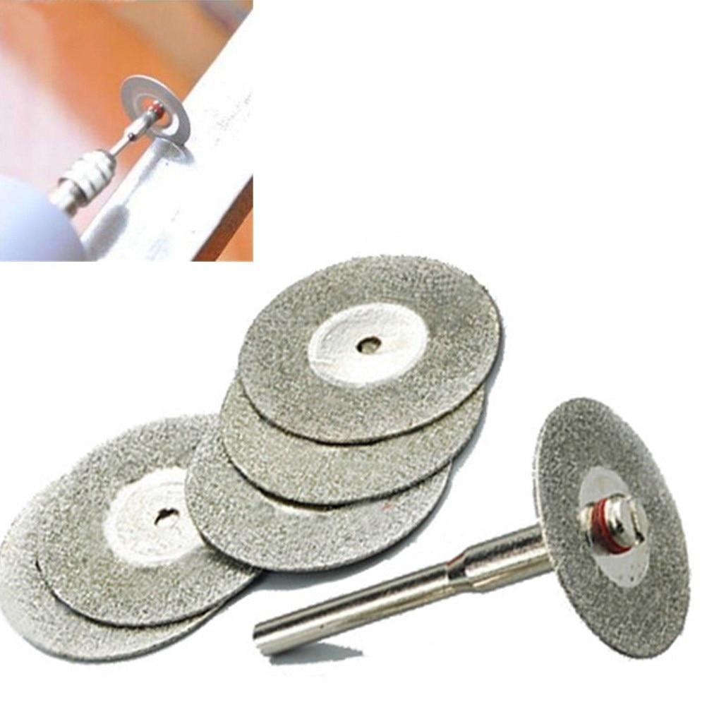 5Pcs 22mm cutting disc diamond grinding wheel disc circular saw blade abrasive mini drill dremel rotary tool accessories цена 2017