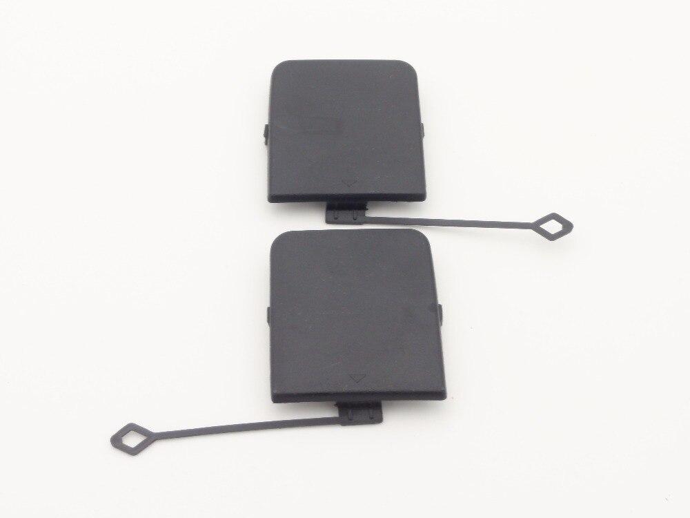 1 paire 51127303815 51127303816 Pare-chocs arrière Remorquage Crochet Pour Les Yeux Casquette Droite + Gauche Pour BMW X1 Série E84 2013-2014