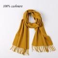 Новый мужской кашемировый шарф MS кашемировый шарф шарф шали Осенью и зимой, чтобы согреться Чистый цвет твердого цветные зимний шарф