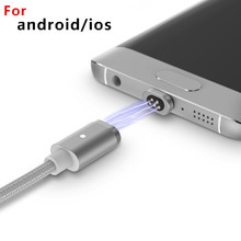 Special offer Magnetic cable android mobile font b phone b font cables for iphone Samsung huawei