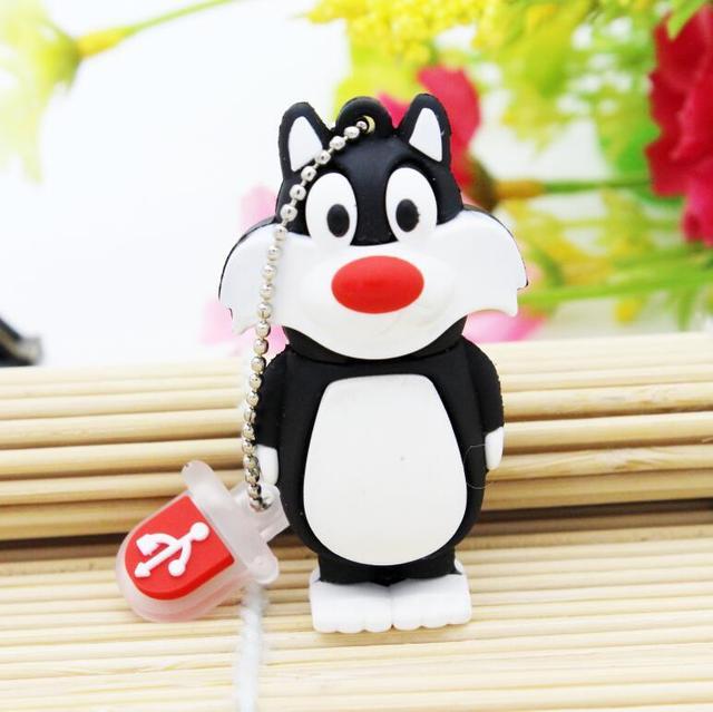 Bugs Bunny Crow Lion cat USB 2.0 Flash Drive