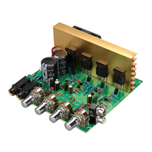 New Audio Amplifier Board 2.0 Channel 100W High Power Subwoofer Amplifier Board DIY Amplifiers Hifi Stereo Amp For Home Speakers цены