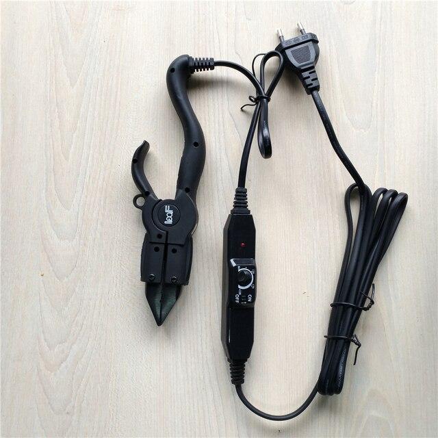 Loof Keratin Fusion Hair Extension Iron Tools Adjustable Temperature