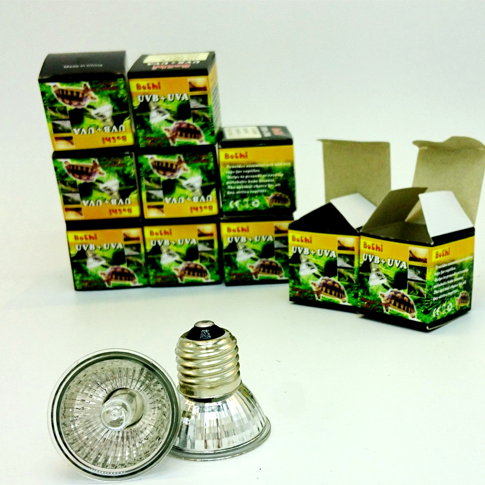Us 25 41 15 Off 10pcs Lot Uva Uvb Sunning Heat Lamp 25 75 Watt Bulb Emits A Broad Spectrum Light Provided Basking Lamp Reptiles Amphibians In