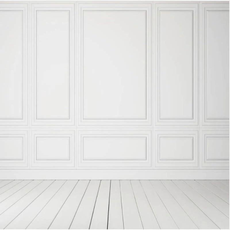 Dinding Kayu Putih Murni Foto Latar Belakang Putih Wainscot Kursi Rel  Dinding Latar Belakang Kustom Pernikahan Toile De Loved Studio Foto MR 1313| Background| - AliExpress